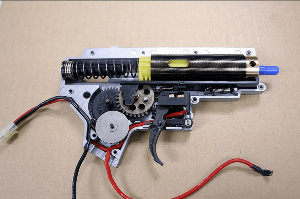 airsoft guns aeg rifle gearbox