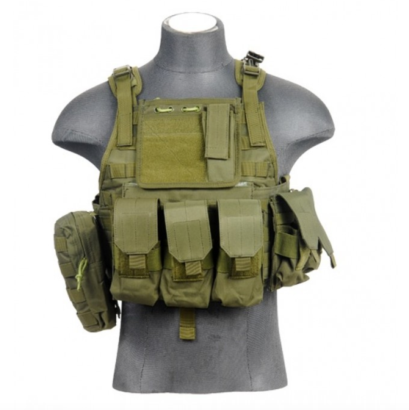 Airsoft equipment tactical vest